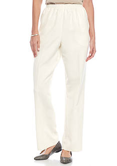 Alfred Dunner Petite Twilight Point Proportioned Medium Pant