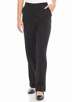 Alfred Dunner Casual Friday Proportioned Medium Pant