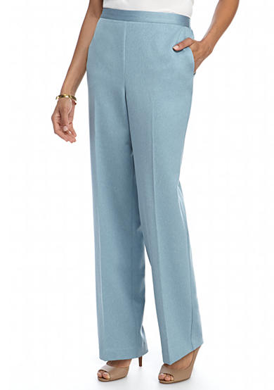 Alfred Dunner Northern Light Heather Medium Pant