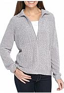 Alfred Dunner Light Chen Cardigan