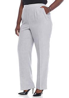 Alfred Dunner Plus Size Northern Lights Proportioned Medium Pants