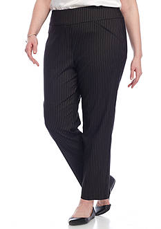 Alfred Dunner Plus Size Theater District Medium Pants