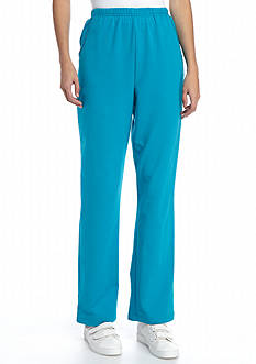Alfred Dunner Adirondack Trail French Terry Medium Pant