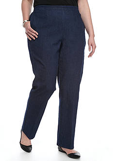 Alfred Dunner Plus Size Uptown Girl Proportioned Medium Pants