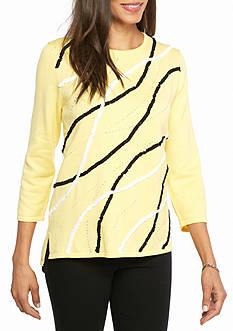 Alfred Dunner City Life Sunburst Sweater