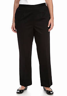 Alfred Dunner Plus Size City Life Proportioned Medium Pant