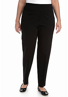 Alfred Dunner Plus Size City Life Allure Stretch Medium Pant