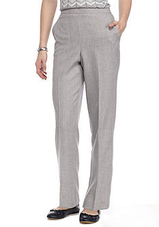 Alfred Dunner Petite Rose Hill Proportioned Short Pants