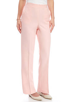 Alfred Dunner Petite Rose Hill Proportioned Medium Pant