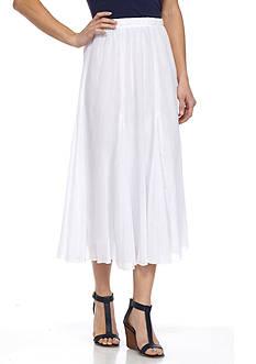 Alfred Dunner Bahama Bays Gauze Skirt