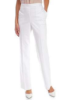 Alfred Dunner Petite Bahama Bays Classic Fit Pant