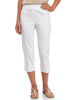 Alfred Dunner Modern Fit Pull-On Capri