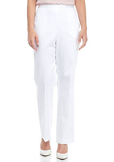 Alfred Dunner Petite Corsica Classic Fit Pants