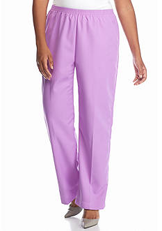 Alfred Dunner Plus Size Always In Style Proportioned Pants Short Length