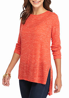 New Directions® Weekend Side Slit Tunic