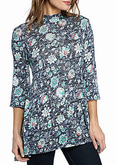 New Directions® Weekend Vines Print Swing Top