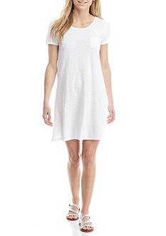 New Directions Weekend Jacquard T Shirt Dress