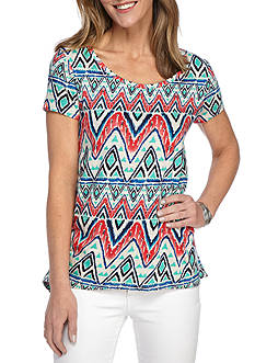 New Directions Weekend EDV Tribal Chevron Tee
