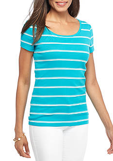 New Directions Weekend EDV Paigestripe Tee