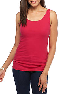 New Directions Weekend EDV Basic Solid Rib Tank