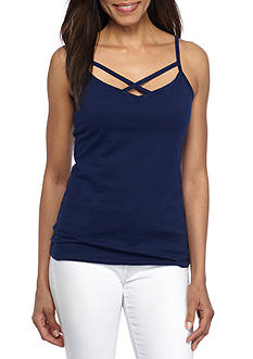 New Directions Weekend Criss Cross Cami