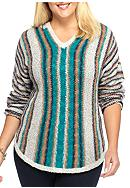 New Directions® Weekend Plus Size Hooded