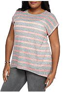New Directions® Weekend Plus Size Stripe Knit