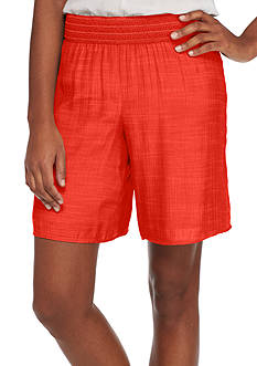 New Directions® Solid Crochet Soft Short
