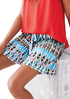 New Directions® Tribal Printed Soft Short