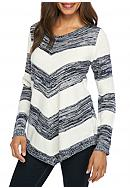 New Directions® Marled Stripe Sweater