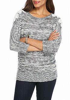 New Directions Crochet Dolman Sweater