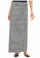 New Directions® Stripe Maxi Skirt