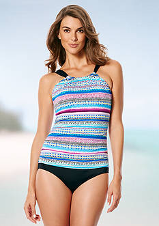 Jantzen Painted Stripe Mio One Piece