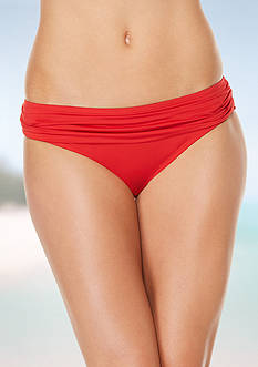 Jantzen Shirred Waist Swim Bottoms