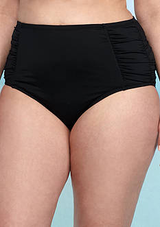 Jantzen Plus Size High Waist Swim Bottom