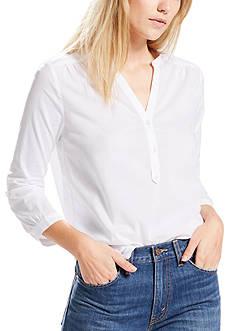 Levi's Femme Popover Shirt White