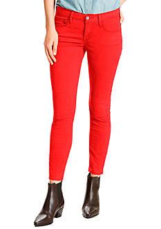 Levi's 711 Super Skinny Cherry Bomb Jeans