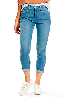 Levi's Mid Rise Skinny Crop Evening Shade Jeans