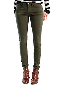 Levi's® 711 Skinny Fit Jeans Soft Twill Forest
