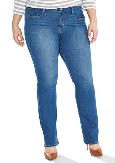 Levi's® Plus Size 314 Shaping Straight Jeans