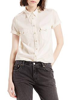 Levi's Short Sleeve Western Top
