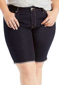 Levi's Plus Size Shaping Bermuda Short