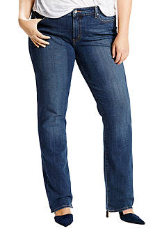 Levi's® Plus Size 414 Relaxed Straight Jean