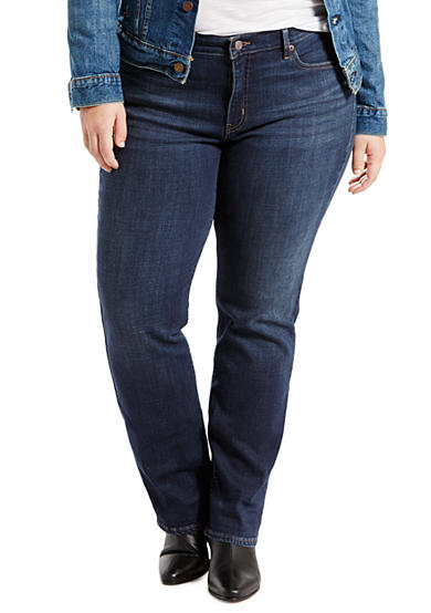 Levi's® Plus Size 414 Relaxed Straight Fit Jeans