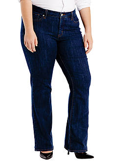 Levi's Plus Size 415 Relaxed Bootcut Storm Rider Jeans