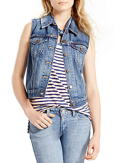 Levi's Authentic Trucker Vest Camp-Out Blues