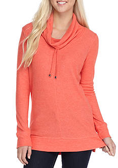 Derek Heart Cowl Neck Pull Over