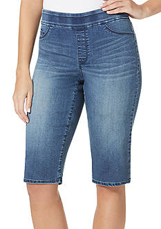 Bandolino Thea Pull-On Denim Skimmer Pant