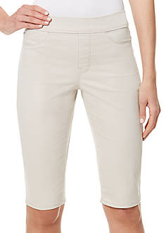 Bandolino Thea Pull-On Twill Skimmer Pant