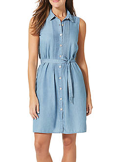 Bandolino Clarice Sleeveless Denim Dress